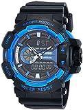 Skmei Analog-Digital Black Dial Men's Watch-1117-Blue