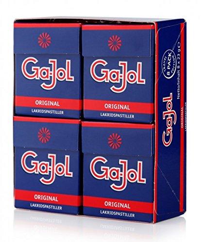 gajol Ga-Jol Original Lakritz-Pastillen 8er Pack