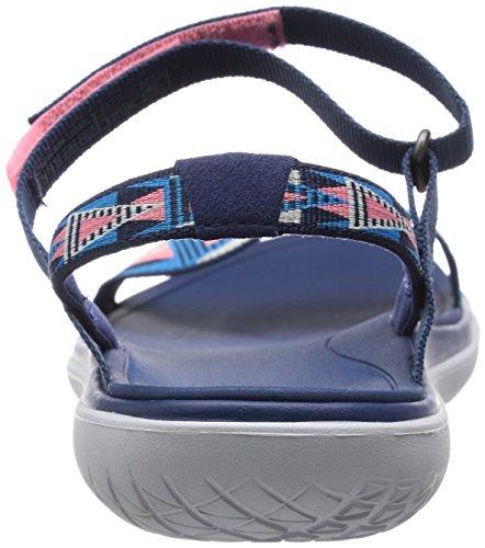 Teva Damen Terra-Float Nova W's Sport-& Outdoor Sandalen Blau (Fondant Pink 551)