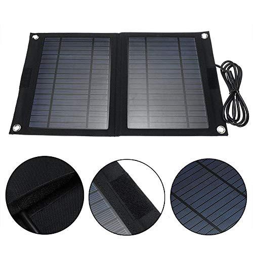 Banca portatile di energia solare, caricabatterie solare, caricatore di celle solari pieghevoli da 25 w 12v / 5v, caricatore da pannello solare pieghevole da esterno, banca di alimentazione mobile