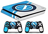 skin ps4 slim - napoli scudetto logo ultras calcio - limited edition decal cover adesiva playstation 4 slim sony bundle