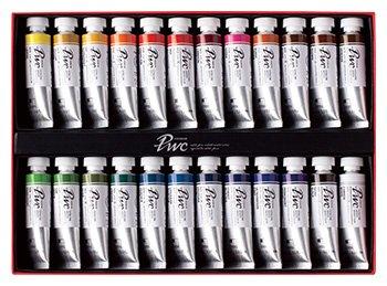 ShinHan: Premium: de pintura acuarela 15ml: conjunto de tubo de 24