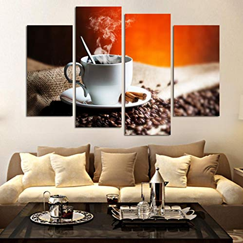 mauroan Leinwand Malerei Wandbilder Für Wohnzimmer Fallout4 Stück Kaffee Kunst Malerei Hause Dekorative Bild Malen Auf Leinwand