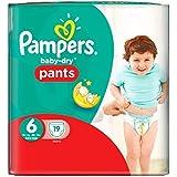 Taille 6 De Portage De Bébé-Secs Pantalons De Pampers 19 Couches -