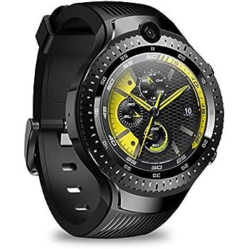 Zeblaze Thor 4 duales Smart Watch Reloj Inteligente Android 7.1 4G 5MP + 5MP Cámara Doble 1 + 16G Memoria 530 mAh Batería de 1,4 Pulgadas Reloj ...