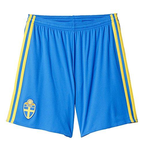 adidas Herren Trikot/Heim-shorts Schweden Replica, royal blau/gelb, L, AA0448