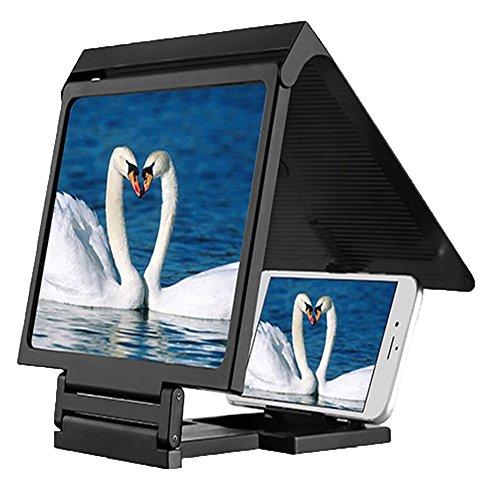 Magnifier Handy Bildschirm HD 10 Zoll Lupe Alle Handys Universal Strahlung Anti-Müdigkeit Augen...