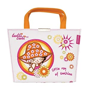 Santoro Graphics Tutti Cuti Sunshine Girl Bolsa de Playa con Cerradura Notebook