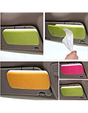 MOHAK New Auto Accessories Car Sun Visor Tissue Box Paper Napkin Holder with Tissue