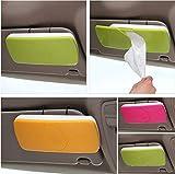 #2: Cpixen New Auto Accessories Car Sun Visor Tissue Box Paper Napkin Holder with Tissue