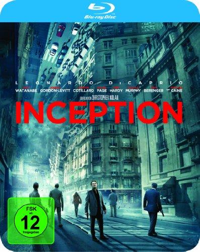 Bild von Inception Steelbook [Blu-ray] [Limited Edition]