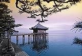 Fototapete ZEN UKIMIDOU TEMPLE 366x254 Buddha Tempel China Japan Thailand Asien