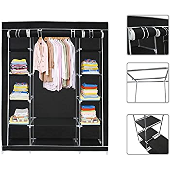 Todeco   Wadrobe, Closet   Material: Stainless Steel Tubes   Closing Type:  Velcro
