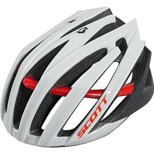 Scott vanish-r casque de vélo blanc/rouge pour 2012: s = 51–55 cm