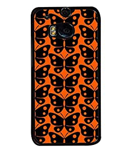 FIOBS orange is the new black Designer Back Case Cover for HTC ONE M8