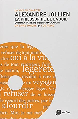 Alexandre Jollien : La philosophie de la joie (1CD audio)