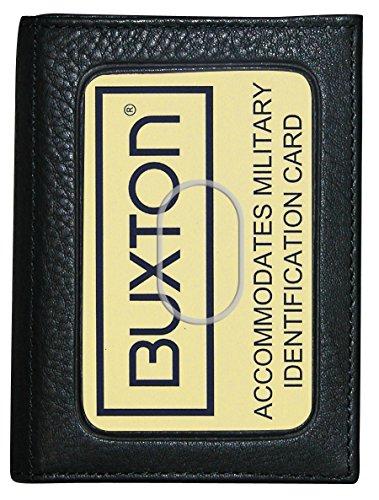 Buxton Herren Mountaineer Id dreifach - Schwarz - Einheitsgröße -