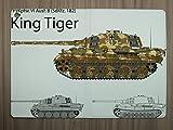 LEotiE SINCE 2004 Tablet Schutz Hülle Passend für iPad Air 2 Waffe Panzer Tiger
