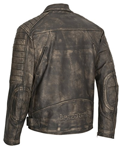 MOTORRAD LEDERJACKE SPEED DEVIL HERO - 2