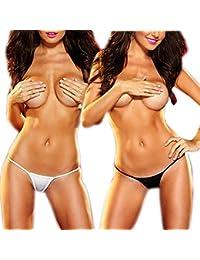 10er/5er/1er Pack G-String Hot Go Go String Micro Unterwäsche Minislip Sexy Tanga Bikini Slip