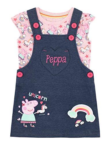 Peppa Wutz Mädchen Peppa Pig Trägerkleid Mehrfarbig -