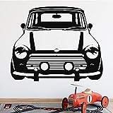 fancjj Lustige Kreative Auto Hintergrund Vinyl Wandaufkleber für Kinder Schlafzimmer Dekoration...