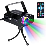 Lampe de Scène avec Télécommande KINGTOP DJ Projecteur à Effets Discotheque
