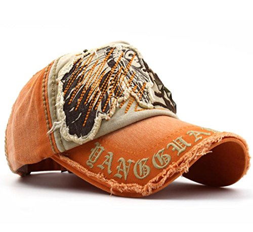 Kuyou - Casquette de Baseball - Homme taille unique Orange