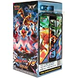Pokemon Cartas XY10 BREAK Booster Pack 153 Cartas(30 Packs +3 Additional Cartas) + 3 Cartas Shields Fates Collide(Awakening Psychic King) Korea Version TCG
