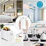 Bawoo-Presa-WiFi-Intelligente-Spina-Wireless-con-USB-Compatibile-con-EU-Google-Home-Amazon-Alexa-Android-iOS-Gestione-da-App-Risparmio-Energetico-Adattatore-Doppio-Caricatore