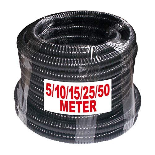 AMUR Saug-/Druckschlauch Saugschlauch Druckschlauch Schlauch 1 Zoll für Hauswasserwerk Kreiselpumpe Jetpumpe 5, 10,15, 25, 50m - Auswahl (Rolle 5m)