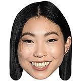 Awkwafina (Smile) Maschere di persone famose, facce di cartone