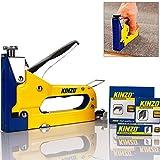 Kinzo 871125279439 Ensemble 3 en 1 agrafeuse et agrafes Jaune