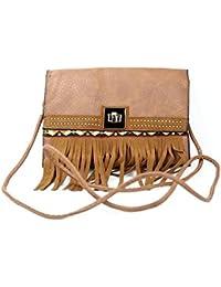 Hydes Cute Girl's Women's Ladies Side Sling Bag Designer Purse Trendy Hand Bag - B01LAHERUU