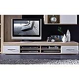 Stella Trading DSHW561031 TV-Element Schrank Unterteil Kommode fernseherstand fernseherständer, Holz, braun, 48.0 x 200.0 x 31.0 cm