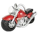 Motorrad Biker Garten Figur Sorlarleuchte Led Lampe Garten Deko Figur