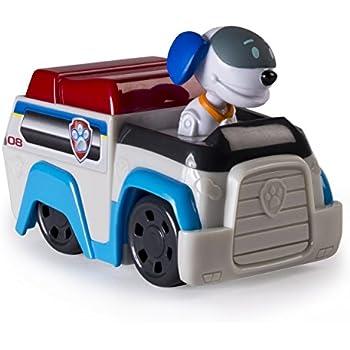 Mini V/éhicule de la PatPatrouille 9 cm Racers PAW PATROL Stella