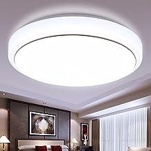 XHOPOS HOME Random moderno sencillo LED lámpara de techo dormitorio sala de estar balcón acrílico iluminación 40cm regulable 24W