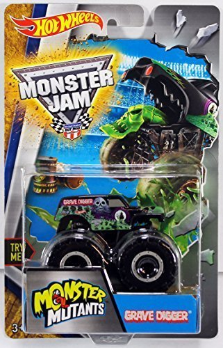 Hot Wheels Monster Jam Mutants Truck - Grave Digger by Hot Wheels (Monster Truck Grave Digger)