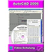 AutoCAD 2006 Video-Schulung: 8 Stunden Video-Training (242 Videos). Für Windows 98/ME/2000/XP/Vista. 8 Stunden Video-Training incl. Übungen und Volltestversion (30 Tage Fristversion)