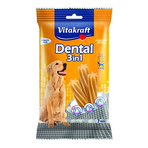 Vitakraft Dental 3in1 Fresh – Zahnpflege-Snack für Hunde ab 10 kg – 12x 7 Sticks - 2