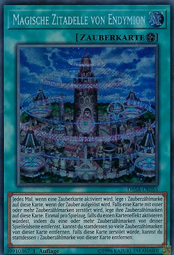 Magische Zitadelle von Endymion - DASA-DE055 - Yu-Gi-Oh - deutsch - 1. Auflage - NIFAERA Spielwaren
