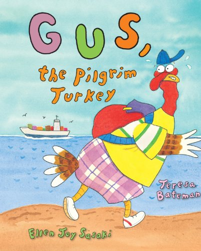 Gus, the Pilgrim Turkey por Teresa Bateman