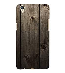 Fuson Designer Back Case Cover for Oppo F1 Plus :: Oppo R9 (Wooden Woody Door Strong Brown)