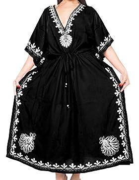 *La Leela****** Designer lunga spiaggia abito da sera rayon costumi da bagno costume da bagno delle donne del...