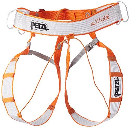 Petzl. Erwachsene Altitude Klettergurt, orange weiß, L/XL