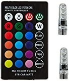 #10: EASY4BUY 1 LED Parking Bulb with IR Remote for All Cars (Pack of 2, Small, Multicolor)