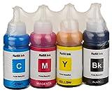 SPLASHJET Compatible Splashjet Ink for EPSON L100 / L110 / L130(Black,Cyan,Magenta,Yellow)