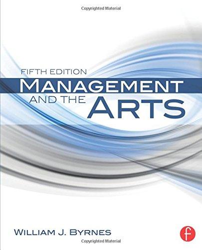 Management and the Arts por William J. Byrnes