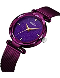 d85246db9ad Amazon.co.uk  Purple - Wrist Watches   Men  Watches